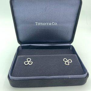 Tiffany & Co Mini Paper Flowers Diamond Earrings